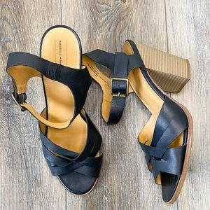 Melrose and Market Strappy block heeled sandals